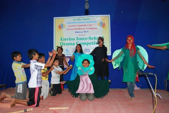 School Children were participated in Inter School Drama Competition.